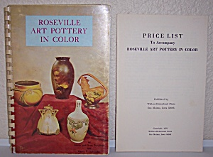 Roseville Art Pottery In Color 1970 Book First Printing