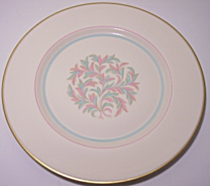 Franciscan Pottery Fine China Rossmore Lunch Plate