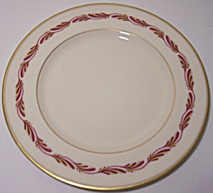 Franciscan Pottery Fine China Arcadia Maroon Bread Plt