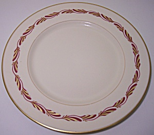 Franciscan Pottery Fine China Arcadia Maroon Salad Plt