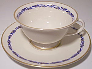 Franciscan Pottery Fine China Arcadia Blue Cup/saucer
