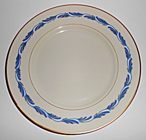 FRANCISCAN POTTERY FINE CHINA ARCADIA BLUE DINNER PLATE (Image1)