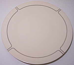 FRANCISCAN POTTERY FINE CHINA SILVER LINING SALAD PLATE (Image1)