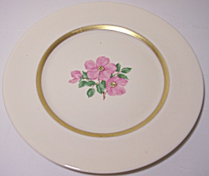 Franciscan Pottery Fine China Cherokee Rose Bread Plate