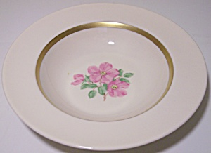 Franciscan Pottery Fine China Cherokee Rose Fruit Bowl