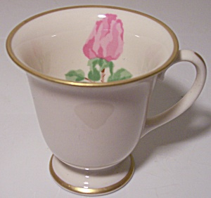 Franciscan Pottery Fine China Cherokee Rose Demi Cup