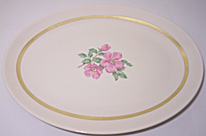 Franciscan Pottery Fine China Cherokee Rose Platter