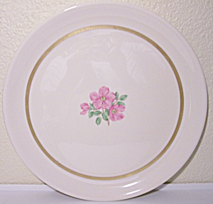 Franciscan Pottery Fine China Cherokee Rose Chop Plate