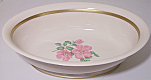 Franciscan Pottery Fine China Cherokee Rose Veg Bowl