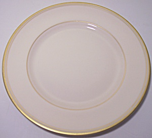 Franciscan Pottery Fine China Gold Band Bread Plate (Image1)
