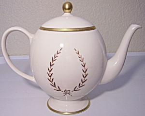 Franciscan Pottery Fine China Mountain Laurel Teapot
