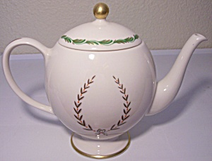 Franciscan Pottery Fine China Arcadia Green Teapot Lid
