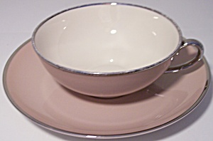 Franciscan Pottery Fine China Sandlewood Cup/saucer Set