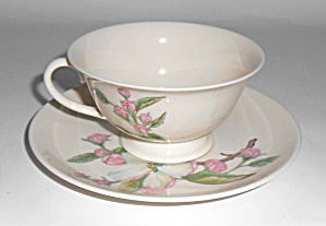 Franciscan Pottery China Chelan Cup/Saucer Set! MINT (Image1)