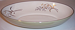 Franciscan Pottery China Willow Bouquet Vegetable Bowl