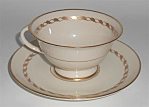 FRANCISCAN POTTERY FINE CHINA DEL MONTE CUP/SAUCER SET! (Image1)