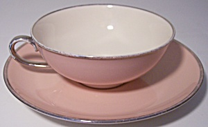 Franciscan Pottery Fine China Magnolia Cup/saucer Set