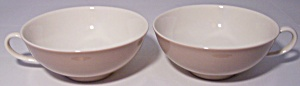 Franciscan Pottery Fine China Sandlewood Pair Cups