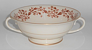 Franciscan Pottery Fine China Ridgewood Cream Soup Bowl