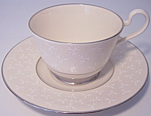 Franciscan Pottery Fine China Tapestry Cup/saucer Set