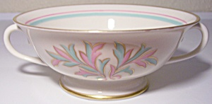 Franciscan Pottery Fine China Rossmore Cream Soup Bowl
