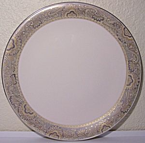 FRANCISCAN POTTERY FINE CHINA NOUVELLE IVORY DINNER PLT (Image1)