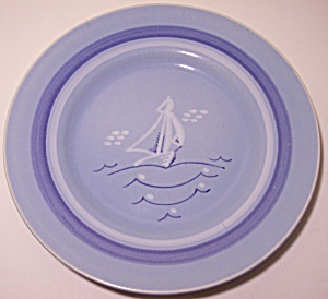 "Franciscan Pottery Del Mar 8.5"" Salad Plate"
