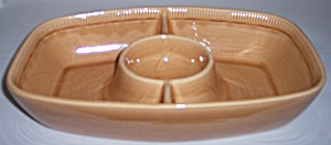 Franciscan Pottery Wheat Summer Tan Divided Server