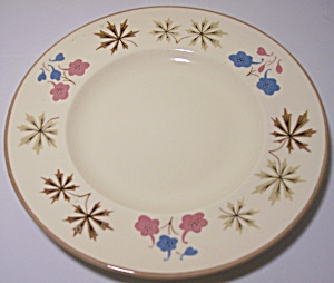 FRANCISCAN POTTERY LARKSPUR BREAD PLATE! (Image1)