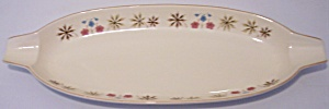 "FRANCISCAN POTTERY LARKSPUR 18"" BREAD TRAY! (Image1)"