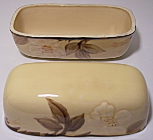 Franciscan Pottery Cafe Royal Butterdish Lid