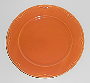 Coors Pottery Golden Rainbow Orange Desert Plate Very R