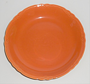 Coors Pottery Golden Rainbow Orange Coupe Soup Bowl