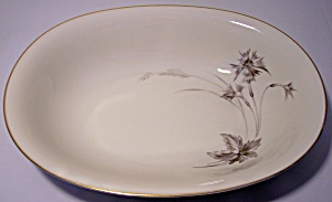 HEINRICH & COMPANY PORCELAIN SEPIA VEGETABLE BOWL! (Image1)