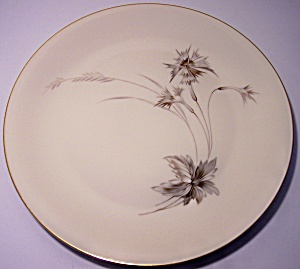 HEINRICH & COMPANY PORCELAIN SEPIA DINNER PLATE! (Image1)
