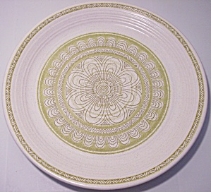Franciscan Pottery Hacienda Green Dinner Plate Mint