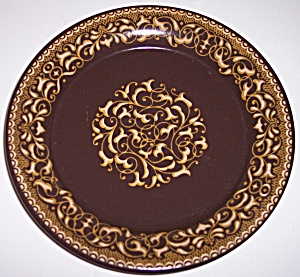 Franciscan Pottery Jamoco Salad Plate