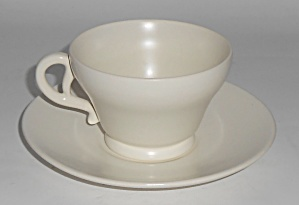 Franciscan Pottery El Patio Satin Ivory Cup/saucer