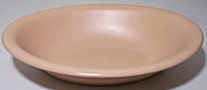 Franciscan Pottery El Patio Satin Coral Oval Vegetable