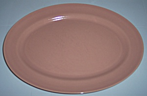 Franciscan Pottery El Patio Gloss Coral Small Platter