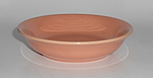 FRANCISCAN POTTERY EL PATIO GLOSS CORAL FRUIT BOWL! (Image1)