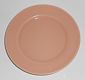 FRANCISCAN POTTERY EL PATIO GLOSS CORAL BREAD PLATE! (Image1)