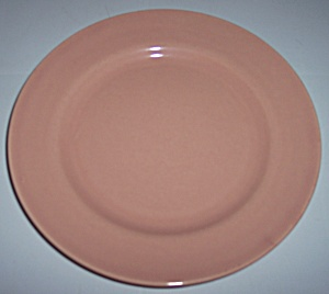 FRANCISCAN POTTERY EL PATIO GLOSS CORAL SALAD PLATE! (Image1)
