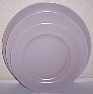 FRANCISCAN POTTERY EL PATIO SATIN GREY SALAD PLATE! (Image1)