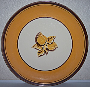 "Franciscan Pottery Mango 14"" Chop Plate"
