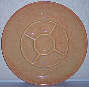 Franciscan Pottery El Patio Golden Glow Divided Relish