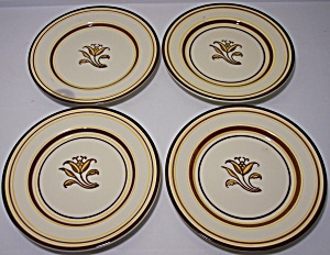 Franciscan Pottery Padua Set/4 Bread Plates