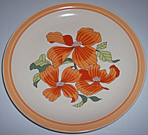 Franciscan Pottery Polynesia Dinner Plate Mint