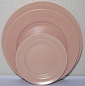 Franciscan Pottery Montecito Satin Coral Dinner Plate