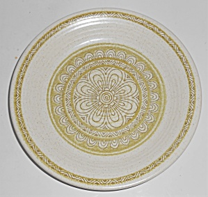 Franciscan Pottery Hacienda Green Bread Plate